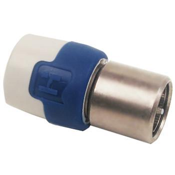 F-connector stekker - Push-on - Professioneel - 7 mm