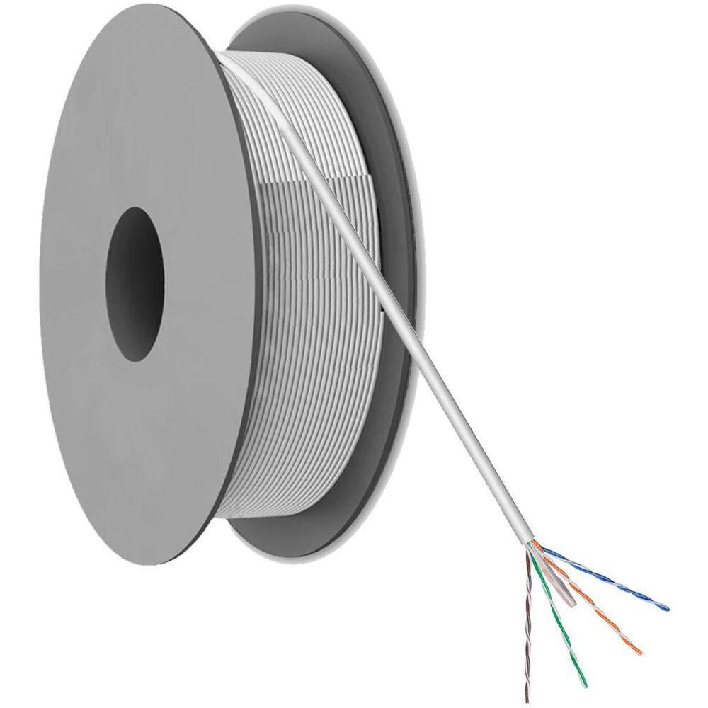 CAT 5 U/UTP Netwerkkabel op rol Auf einer Rolle: 100 Meter kaufen ...