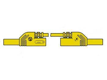 CONTACT PROTECTED MEASURING LEAD 4mm 50cm / YELLOW (MLB-SH/WS 50/1) Contact protected measuring lead 4mm 50cm / yellow (mlb-sh/ws 50/1)