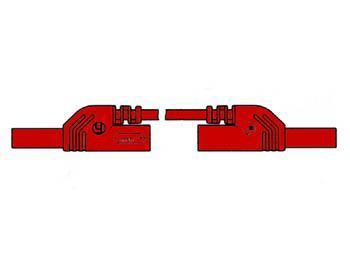CONTACT PROTECTED MEASURING LEAD 4mm 50cm / RED (MLB-SH/WS 50/1) Contact protected measuring lead 4mm 50cm / red (mlb-sh/ws 50/1)