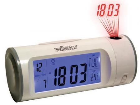 Kinderwekker Met Licht : Wekker met projectieklok met kalender thermometer timer wekker
