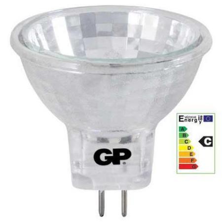 gu4 steeklamp halogeen 20w licht kleur warm wit