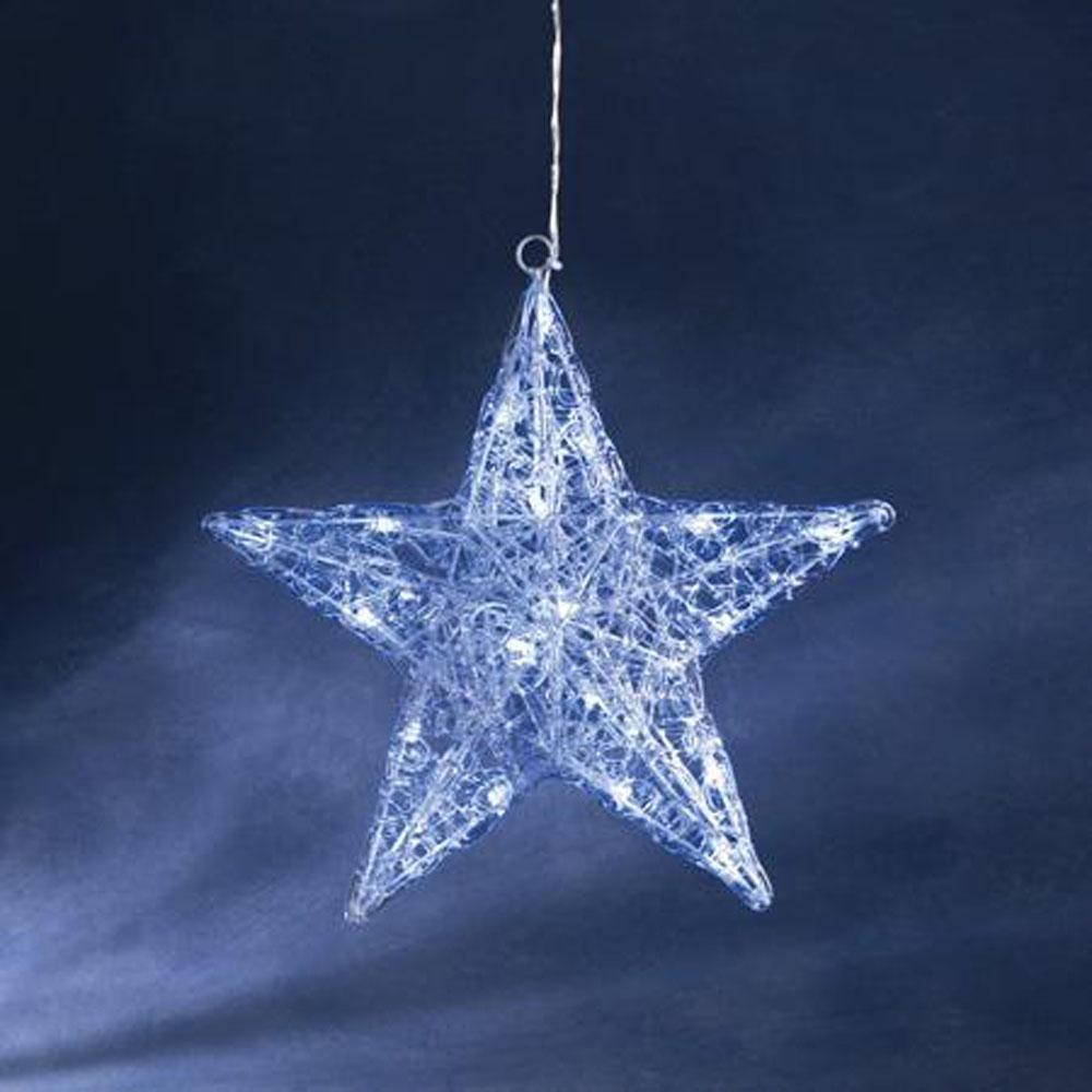Kerstster LED - Kerstster (LED) Kleur: Wit Gebruik: Binnen Aantal ...