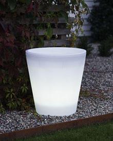 Verlichte Bloempot - Aantal Lampjes: 15 Bescherming: IP44 Materiaal ...