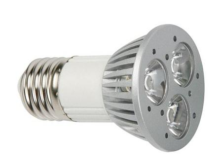 E27 Lamp - Power LED Afmetingen: Ø50/H72mm