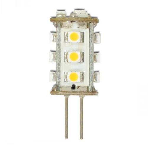 G4 lamp - LED Afmetingen: