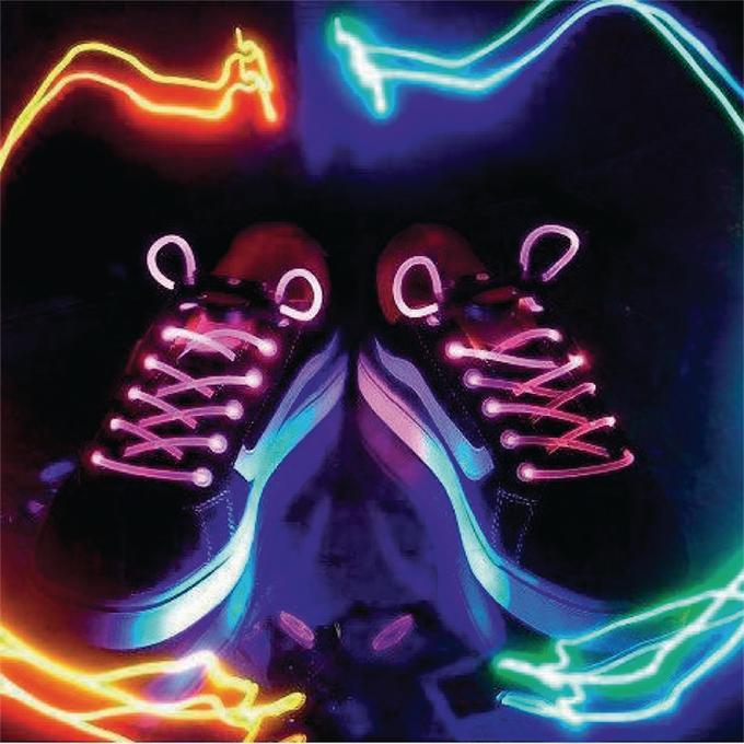 Afbeelding van Cadeau LED Schoenveters Roze basicXL