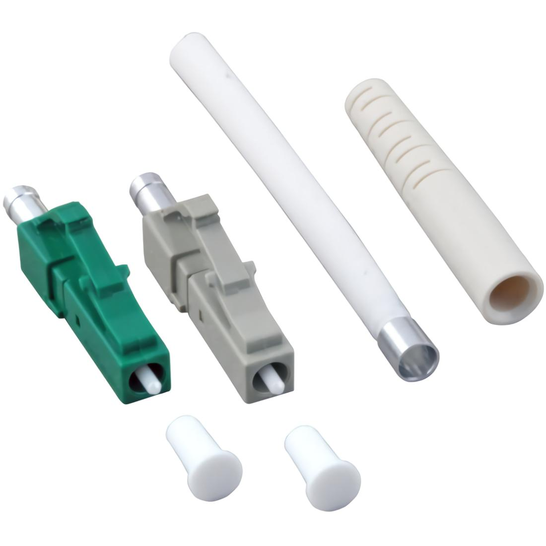 LC connector - Multimode 127 µm ferrule keramische fitting