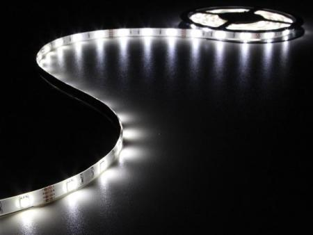 Flexibele led strip koud wit 150 leds 5m 12v flexibele led