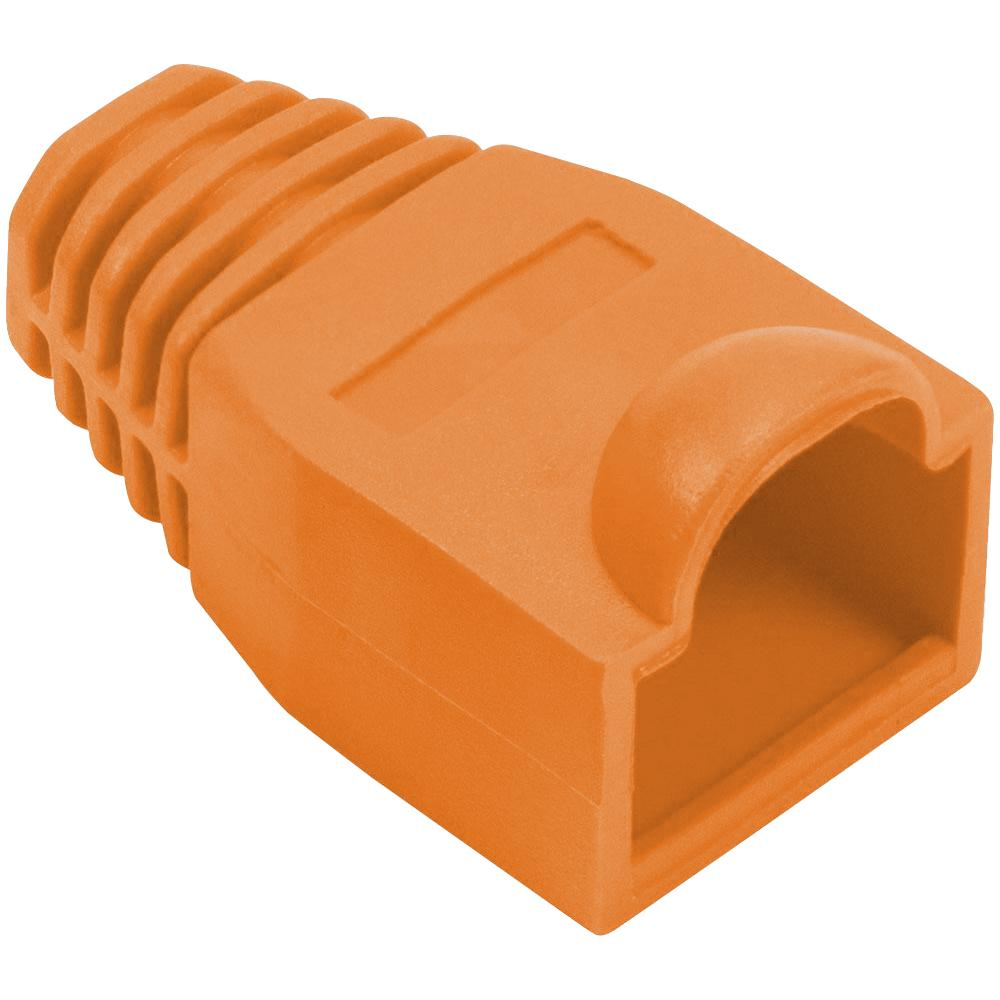 Cat5e tule voor RJ45 connector - Oranje
