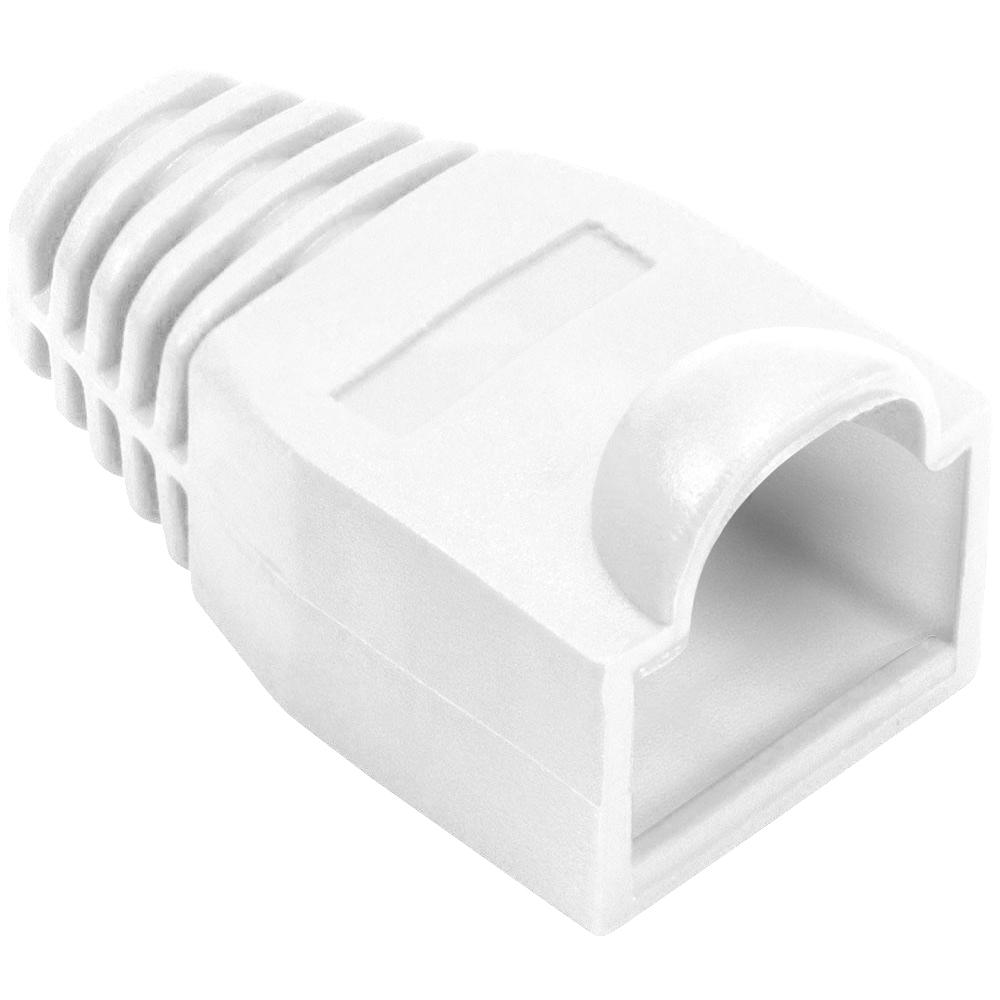 Cat5e tule voor RJ45 connector - Wit