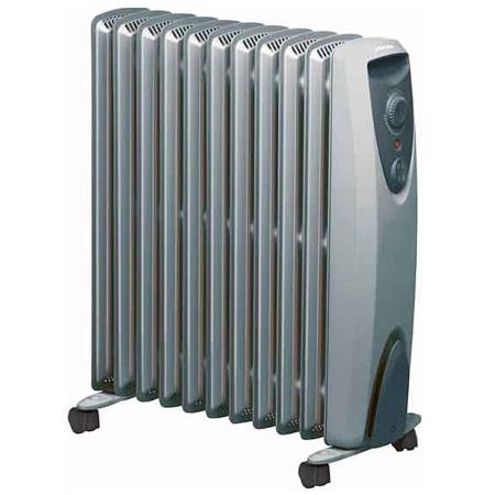 Elektrische Verwarming - Radiator - Elektrische Verwarming - zilver ...