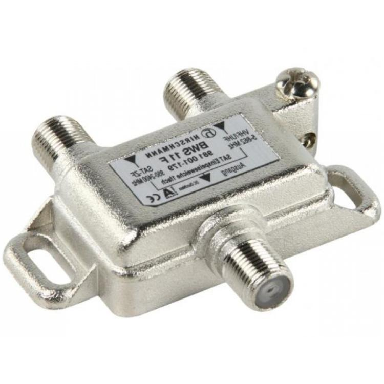 Hirschmann Koppelfilter CAI/Satelliet Uitgang: F-Connector Female