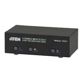 Afbeelding van 2 poorts VGA audio/video switch Aten