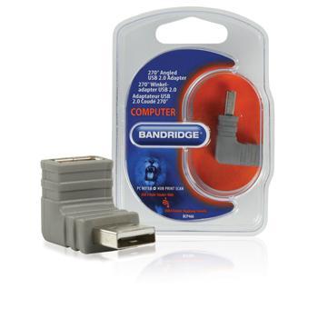 Afbeelding van 270 Haakse USB 2.0 Adapter Bandridge
