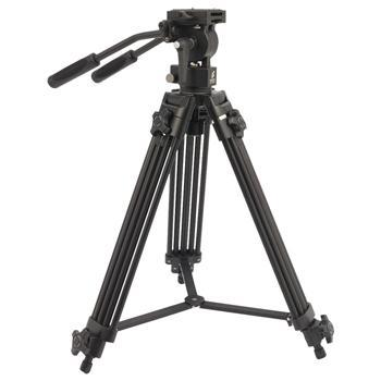 Afbeelding van Camlink video statief Pan & Tilt 138 cm Zwart
