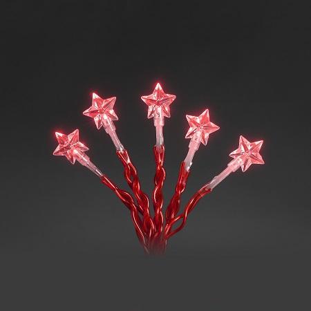 Kerst Decoratieverlichting - Ster - Lichtkleur: Rood, Type: LED ...