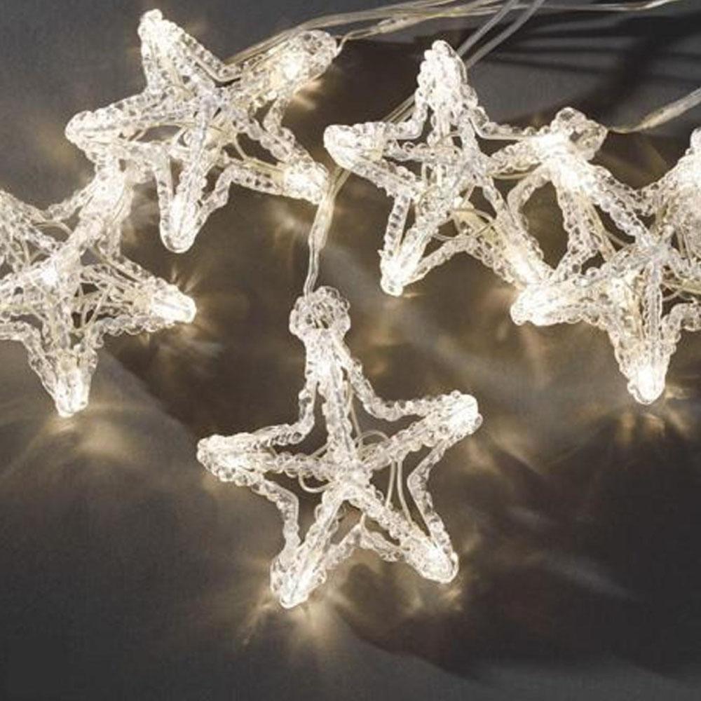 Kerst Decoratieverlichting - Ster - Lichtkleur: Warm Wit, Toepassing ...