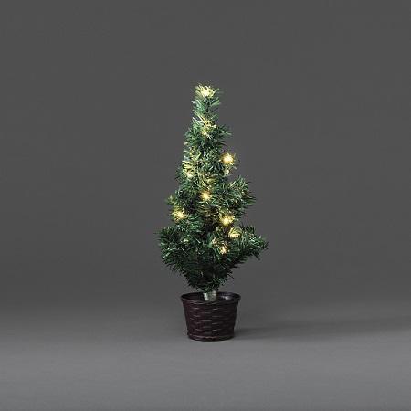 Kerstboom - Kerstboom - Groen, Type: Kunststof - LED, Toepassing ...