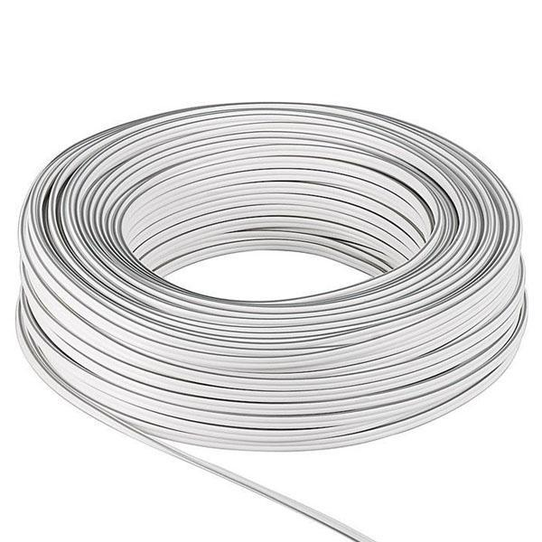 speaker cable  white<br>100 m spool, cable diameter 2 x 0,5 mm? speaker cable  white100 m spool, cable diameter 2 x 0,5 mm?