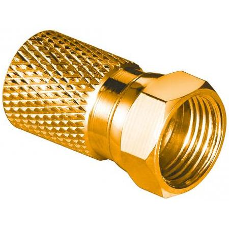 F-connector stekker - Twist-on - Professioneel - 8.2 mm