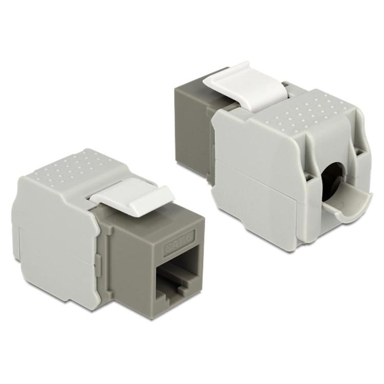 Keystone - CAT6 Aansluiting 2: RJ45 Female