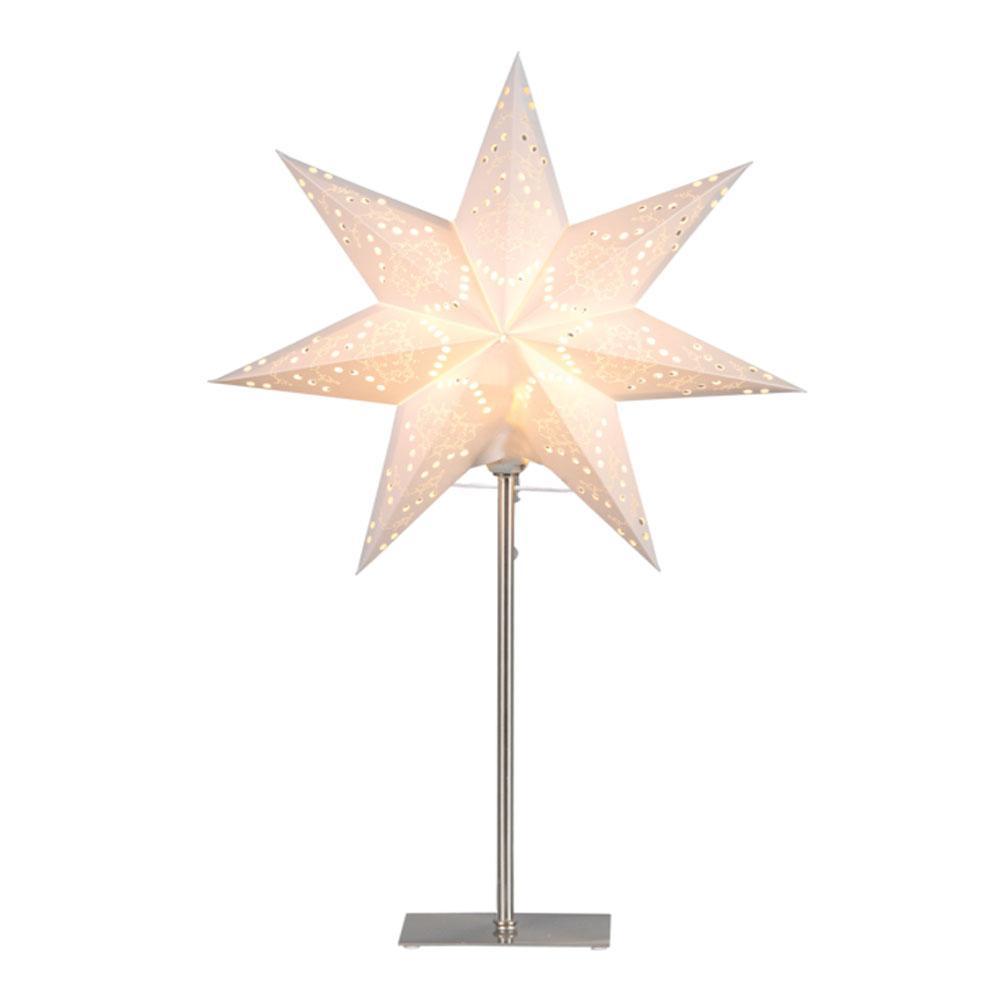 Kerstster - Tafellamp - Tafellamp - Creme, Type: Metaal/Papier - E14 ...