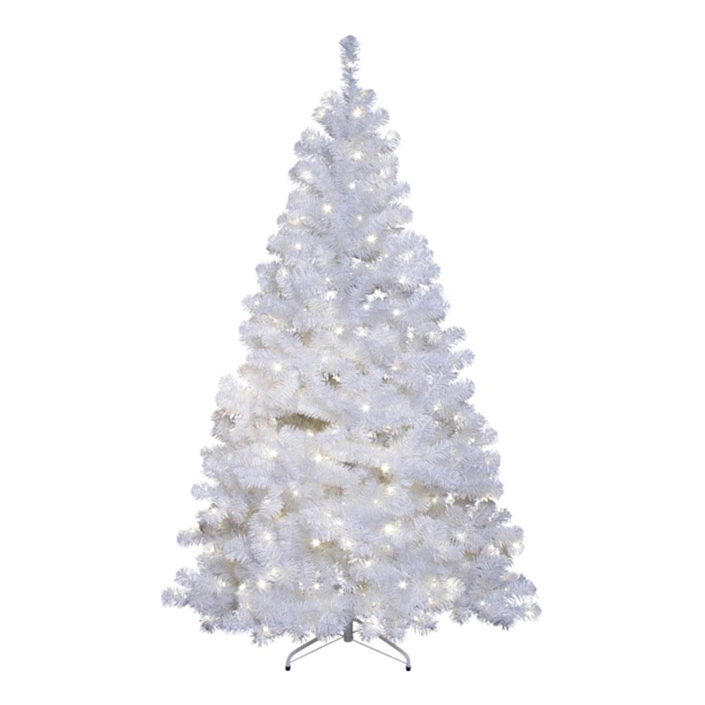 Witte Kerstboom 100 Cm.Kerstboom Kerstboom Wit Type Kunststof Led