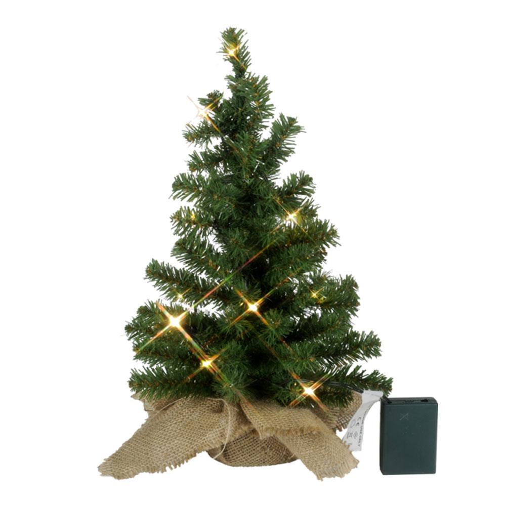 Kerstboom - Kerstboom - Groen, Type: Glasvezel - LED, Toepassing ...