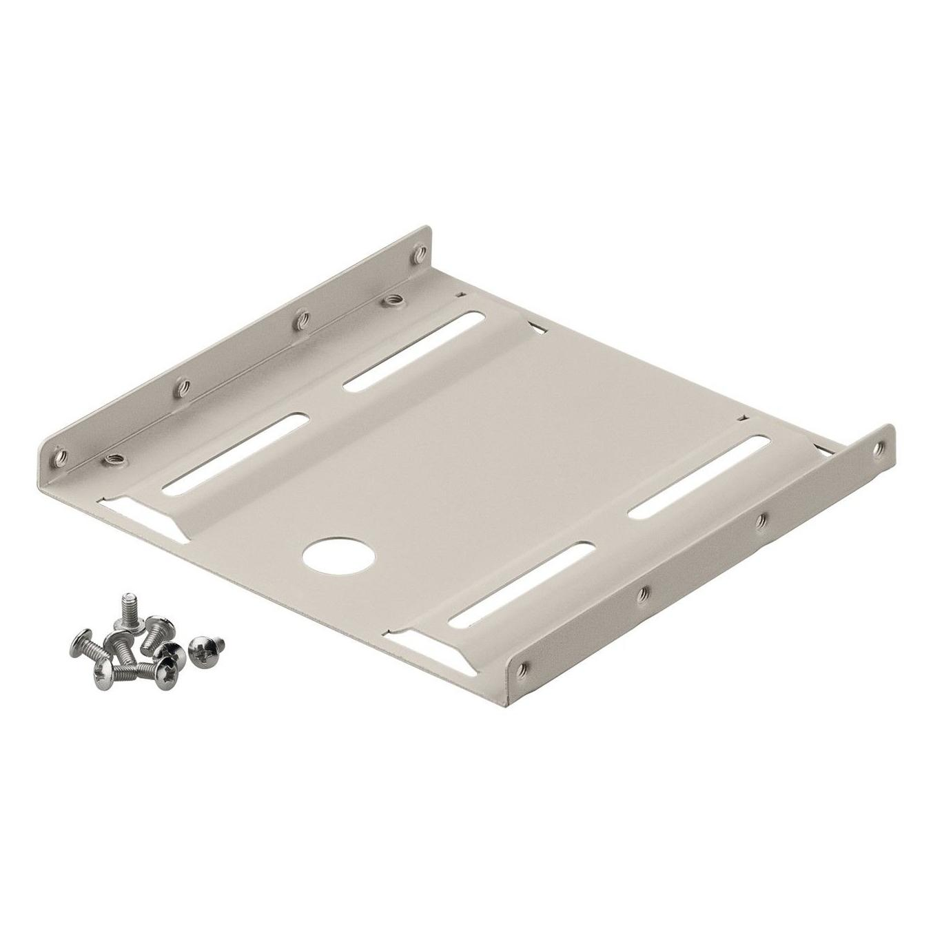 2.5  hard disk installation frame to 3.5 <br>for installation of HDD / SSD  With this mounting set a 2.5 HDD can bemounted in a 3.5 slot