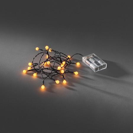 Kerstverlichting - Kerstverlichting - Geel, Type: LED - Bol - Timer ...