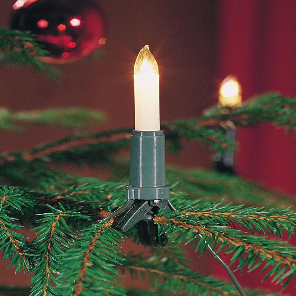 kerstboomverlichting kaars