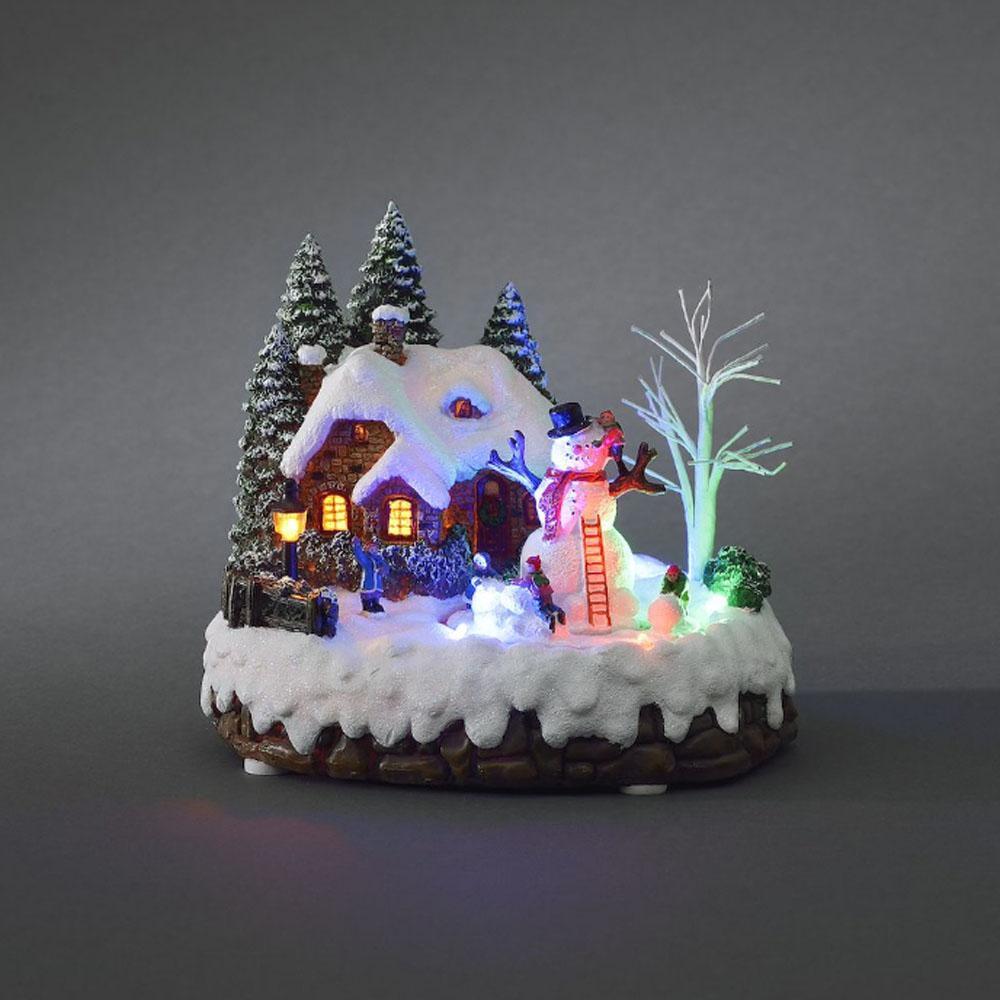 Weihnachten-Winter-Szene kaufen - Allekabel.de
