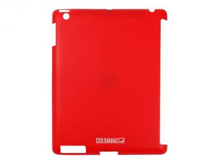 Afbeelding van Cool Bananas silicone protective cover SmartShell for iPad (red) Coo