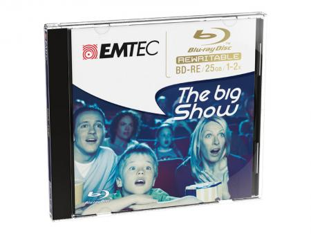 Afbeelding van Emtec Blu ray Disc 25GB rewritable 5stk Jewel Case