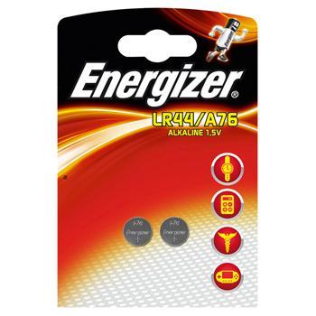 Afbeelding van Alkaline battery A76/LR44 1.5V 2 blister Energizer