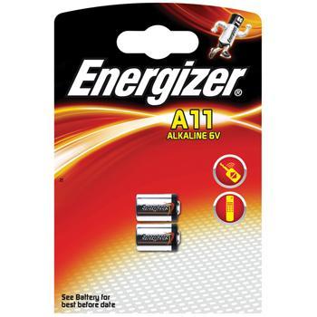 Afbeelding van Alkaline battery A11 6V 2 blister Energizer