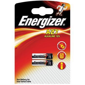 Afbeelding van Alkaline battery A27 12V 2 blister Energizer