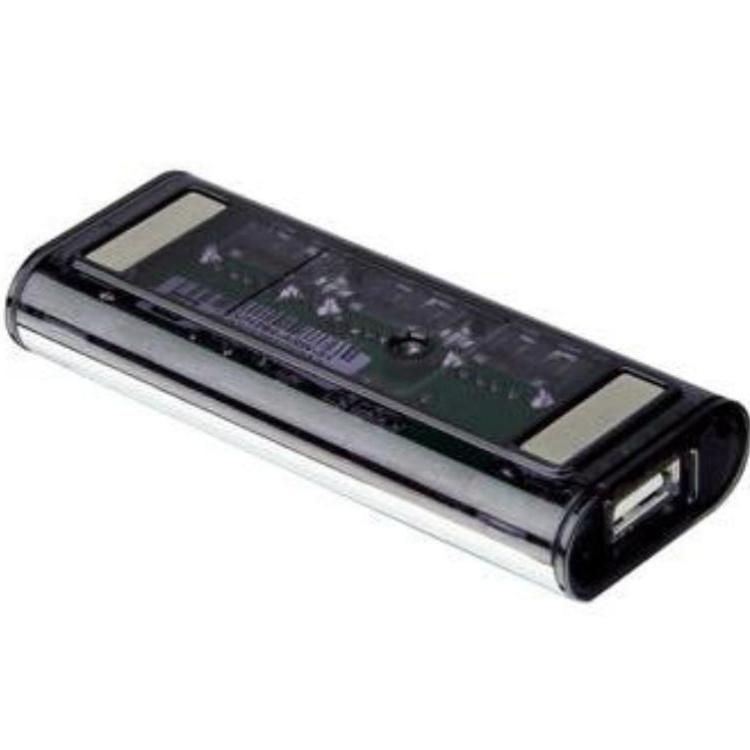 Afbeelding van 4 POORT USB 2.O HUB MET INGEBOUWDE MAGNETISCHE PATCHES EN NEC CHIP A