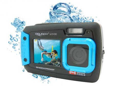 Afbeelding van Easypix AQUAPIX W1400 Active Underwater camera (Iceblue)