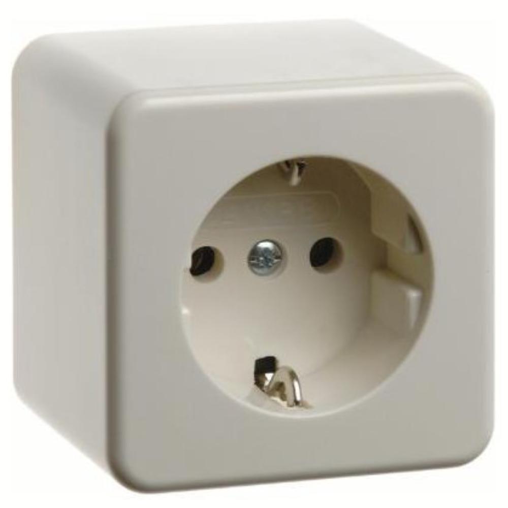 Genoeg Opbouw stopcontact - 1-voudig - Merk: Berker, Soort: Opbouw,1 IL27