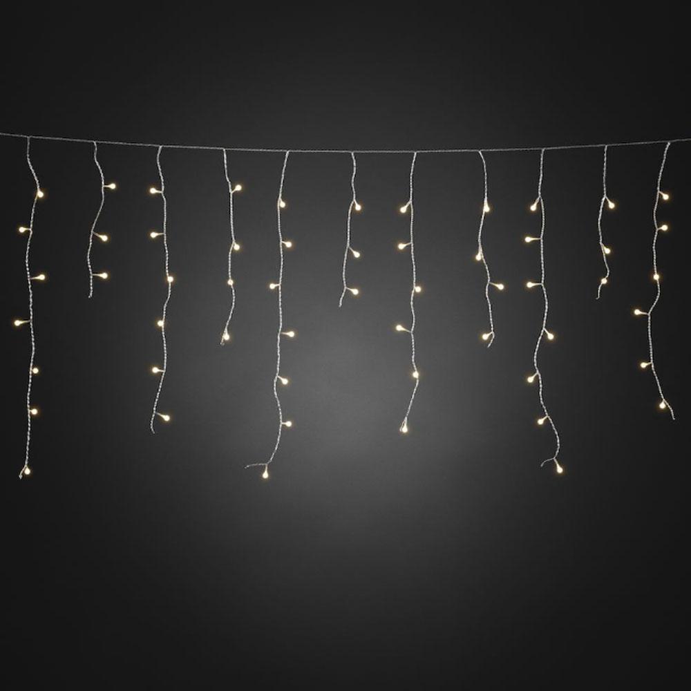 Kerstverlichting Lichtgordijn Lichtkleur Warm Wit Type Led