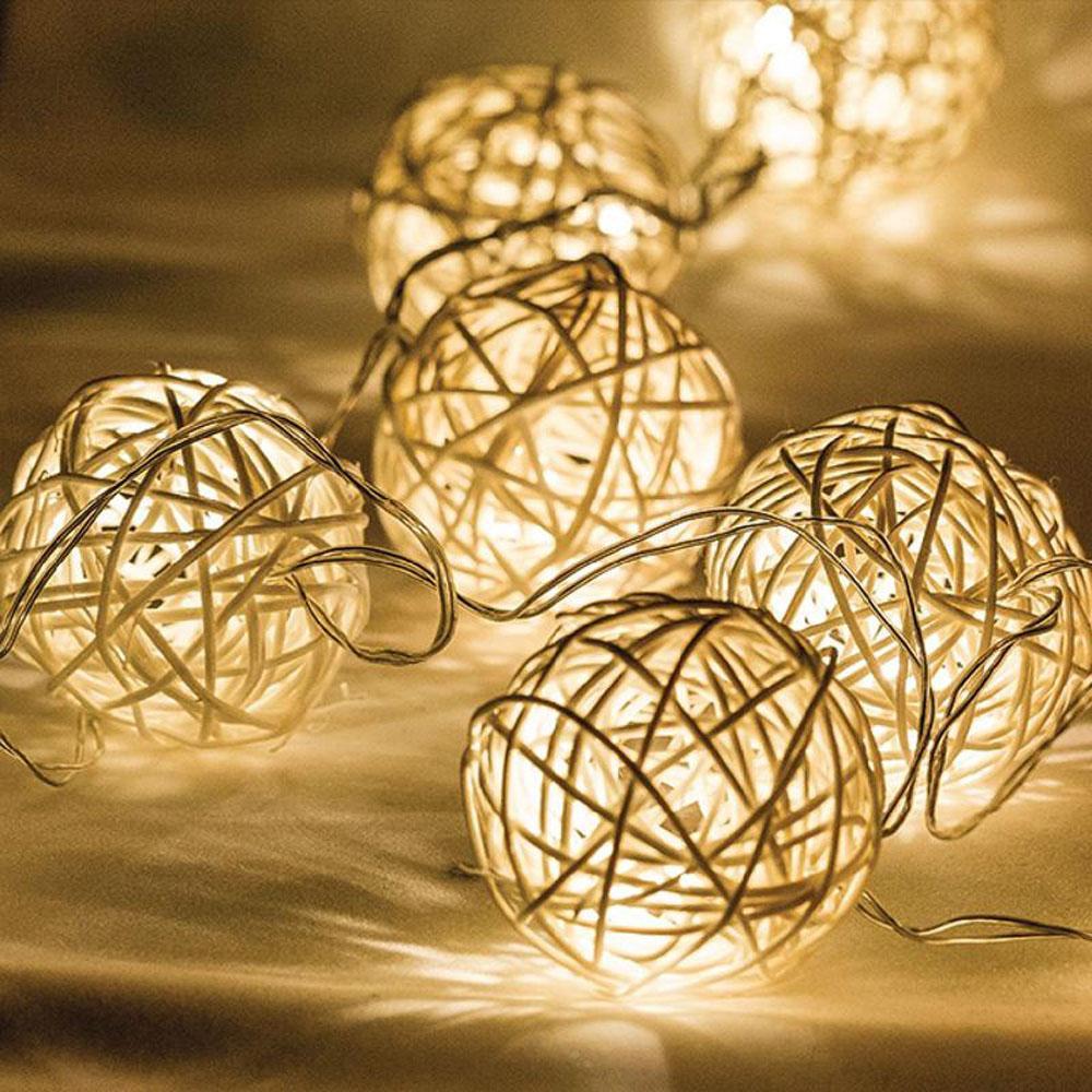 Kerstverlichting Lichtslinger Lampjes 10 Warm Wit Led