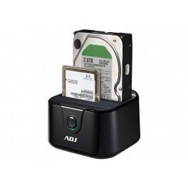 Afbeelding van ADJ 120 00014 Docking Station [2 bays, 2.5inch / 3.5 inch SATA USB3.0