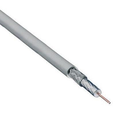 Coax kabel - Grijs - Per meter - Coax kabel - PE 6 - Professioneel ...