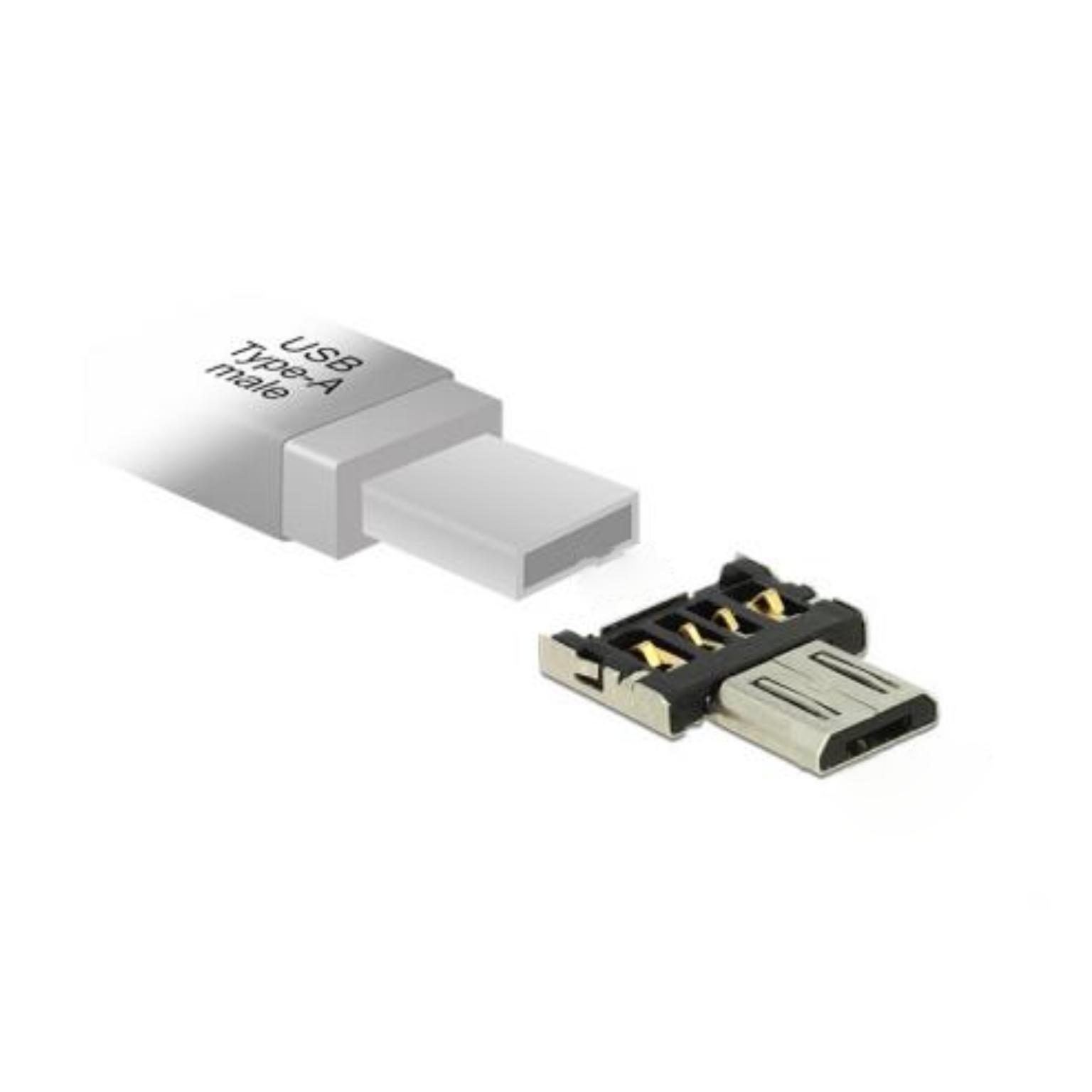 USB 2.0 OTG Adapter Aansluiting 2: USB A Female