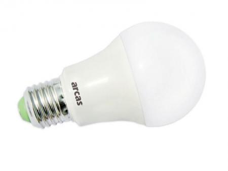 Afbeelding van Arcas LED saving lamp 10 Watt (=60W) Warm White 3000K E27 (810 Lumens)