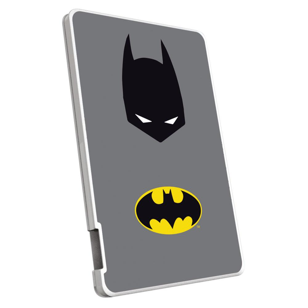 EMTEC Power Bank 2500mAh Justice League (Batman) Capaciteit: 2.500 mAh