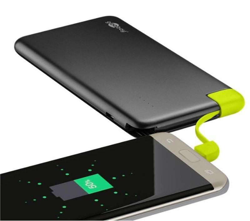 Powerbank - 8.000 mAh - Zwart
