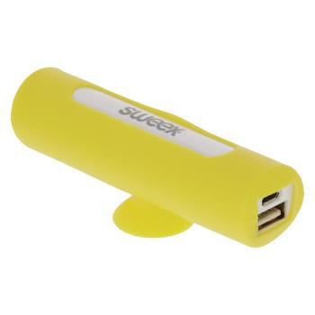 Powerbank - 2.500 mAh - Geel